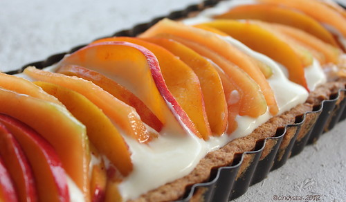 crostata pesche melone