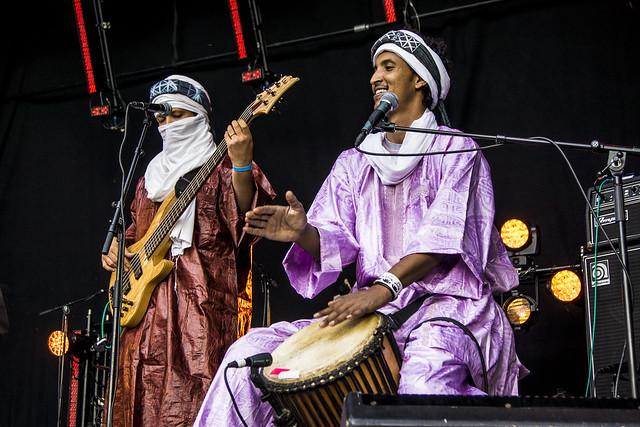 Tamikrest på Øyafestivalen 2012
