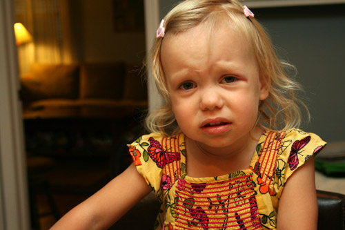 But, Mom, I beat up the last person who hated Dora. Don't make me come over there.