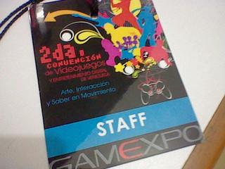 Gamexpo 2da edición