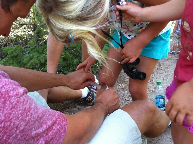 First aid - Hiking at Green Mountain, Boulder, CO