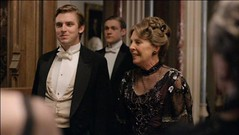 Matthew Crawley and Isobel Crawley meets the family
