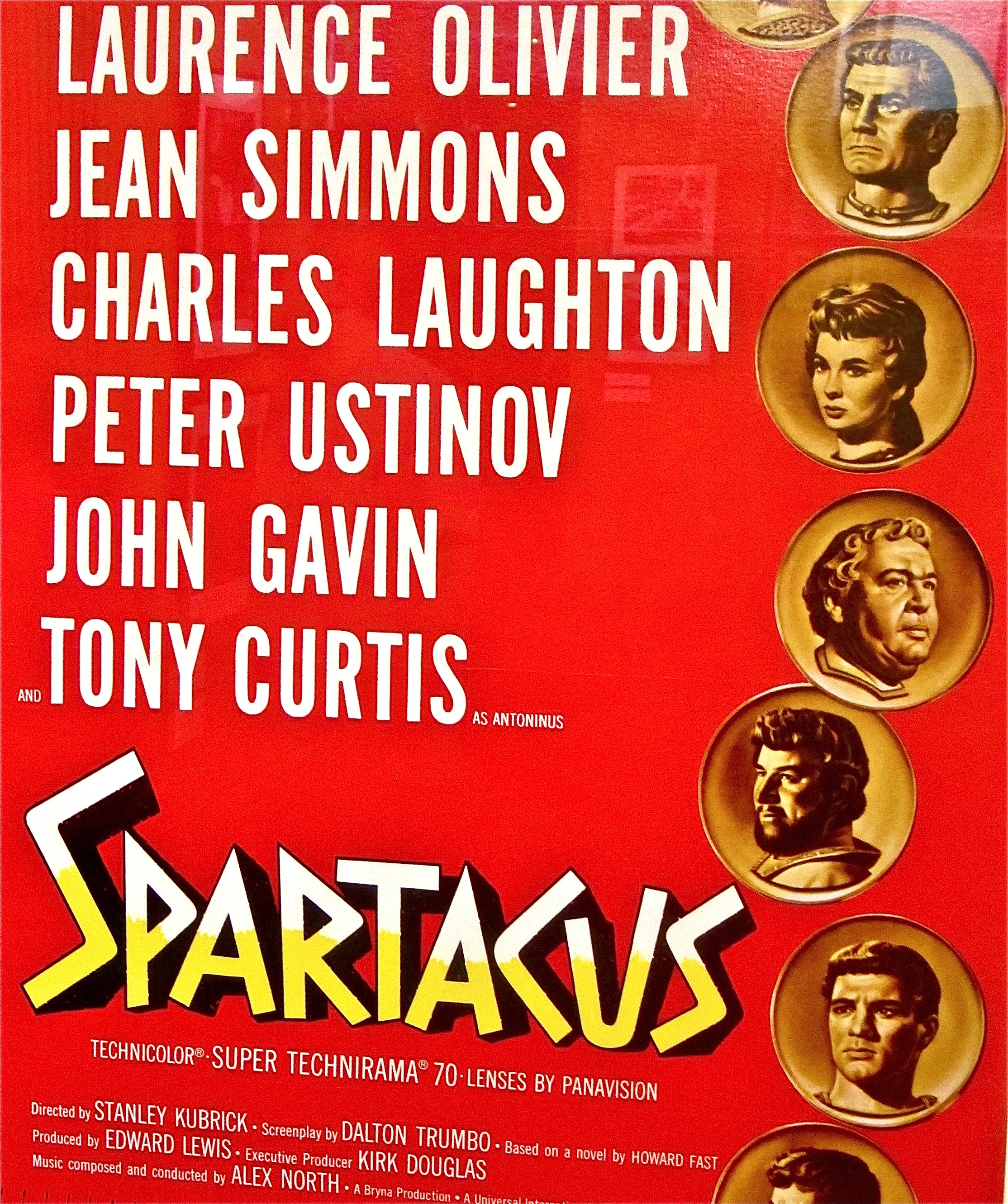 kirk douglas is spartacus at academy screening huffpost