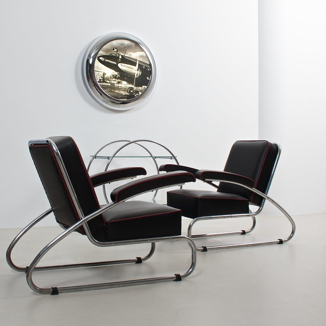 german streamline modernism interior design flickr photo sharing. Black Bedroom Furniture Sets. Home Design Ideas