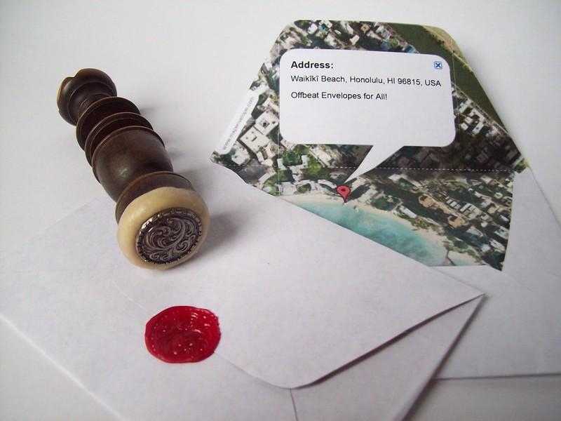 mapenvelope.com + wax seal 5