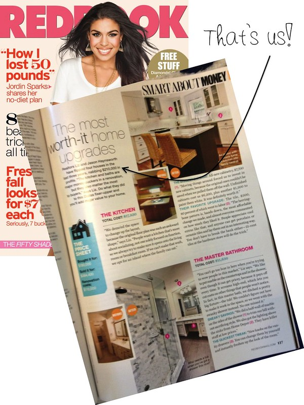 Feature in Redbook Magazine - September 2012