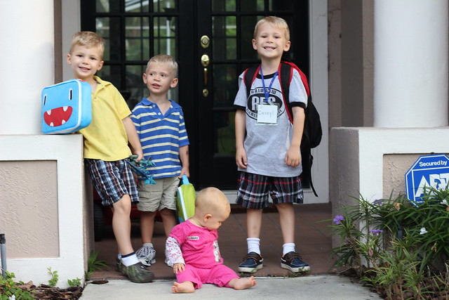 casey's first day of school!