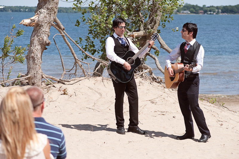 6.27.12 - Nicole & Josh's Eco-DIY Beach Wedding