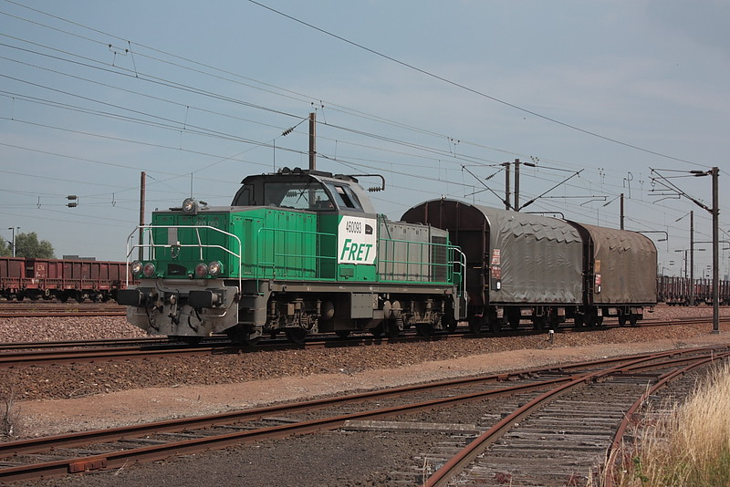Vossloh 2393 - GA 1000 AS - BB 460093 / Dunkerque