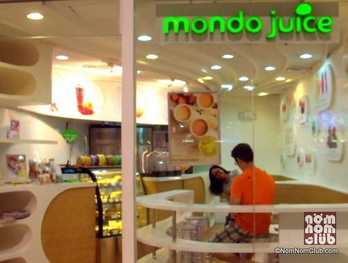 Mondo Juice Robinsons Galleria