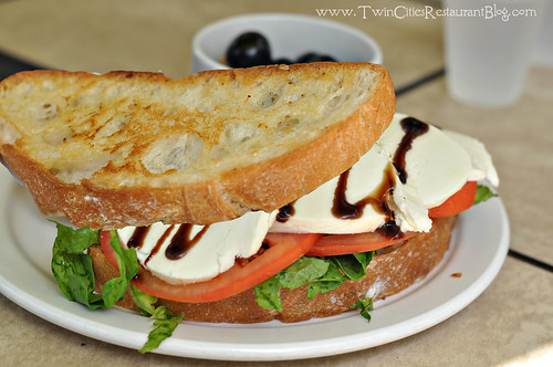 Caprese Sandwich at Finnish Bistro ~ St Paul, MN