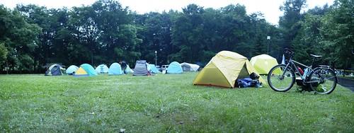 Onne-yu Tsutsuji Park Campground (Onne-yu, Hokkaido, Japan)