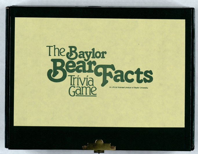 Baylor Bear Facts trivia game