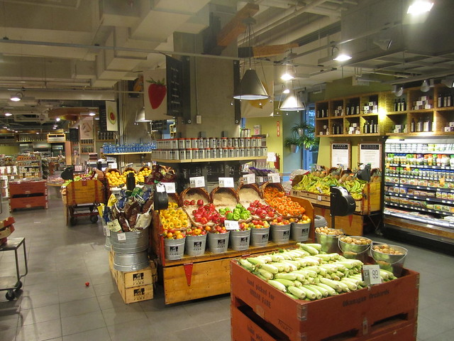 Urban market, interior