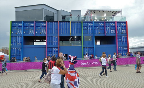 BBC tv studios, Olympic Park, London 2012
