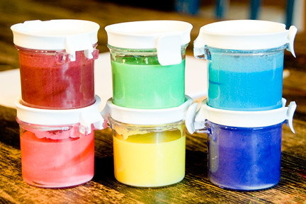 DIY Colourful Paint for Kids | Kim Becker {aka MommyKnows}