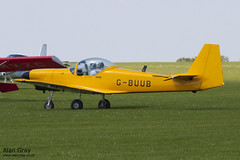 G-BUUB SLINGSBY T.67M-200 FIREFLY 2112 120527 - AeroExpo-Sywell - Alan Gray -IMG_0193