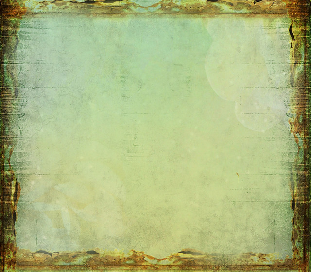 ♥ Green Rust Frame ♥
