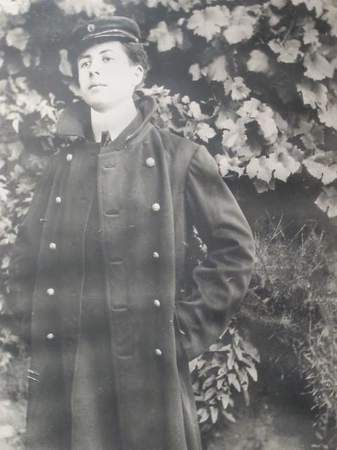 Alain-Fournier en 1905, en uniforme du lycée Lakanal de Sceaux (92)