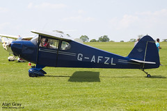 G-AFZL PORTERFIELD CP-50 581 120527 - AeroExpo-Sywell - Alan Gray -IMG_0258