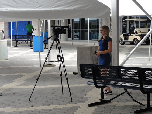 """The first """"film crew"""" I've seen at the RNC"""