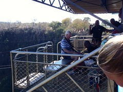 Victoria Falls Bridge Bungee Prep