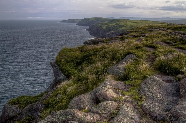 View South from Cape Spear Lighthouse July 19, 2012 by Dan Conlin, 'dans eye' on Flickr.