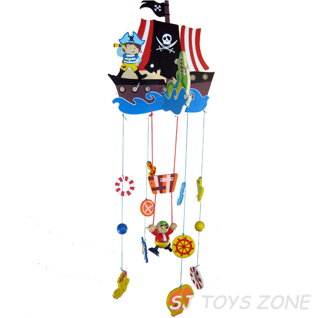 Pirate Baby Mobile About Wooden Pirate Mobile