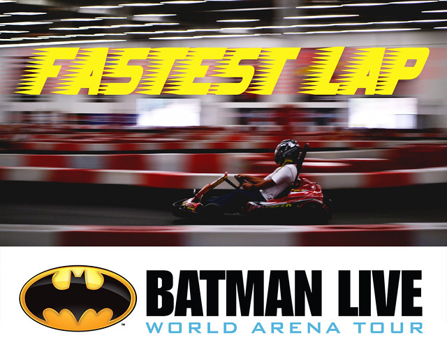 7831934450 4888d18126 z BATMAN LIVE FASTEST LAP WINNERS!
