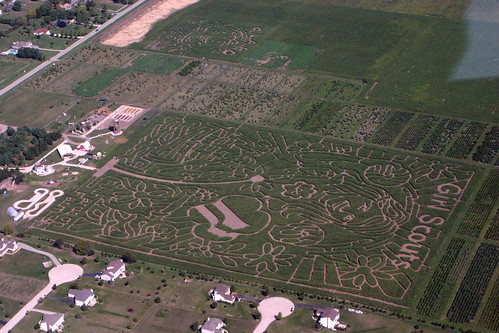 Richardson's Annual Corn Maze is Girl Scout Themed This Year