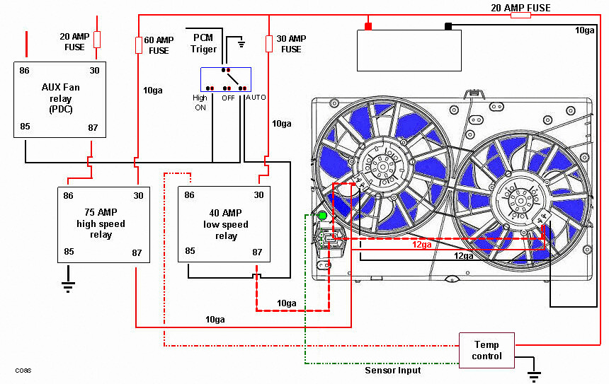 7844490100_c94b770510_b fan clutch or not ??? page 2 jeep cj forums dual electric fan wiring diagram at edmiracle.co