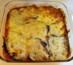 meal, breakfast, gratin, italian food, moussaka, food, dish, cuisine, cottage pie, lasagne,
