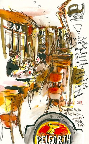 Paris 14 Ago. Happy hour.