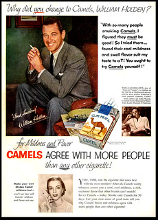 William Holden for Camel