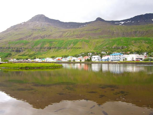 Seydisfjord, East iceland