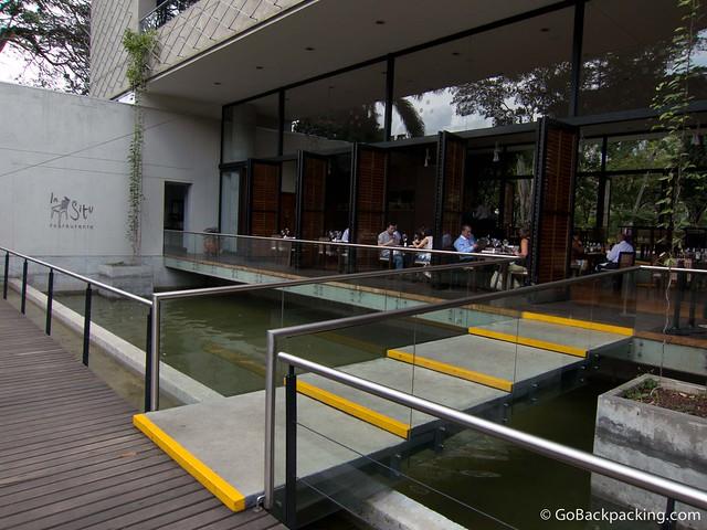 In situ restaurante fine dining in jardin botanico for Restaurante jardin botanico