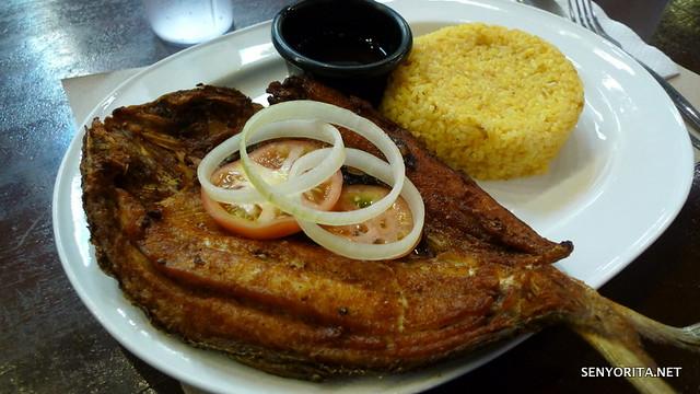 Boneless Bangus w/ Java Rice