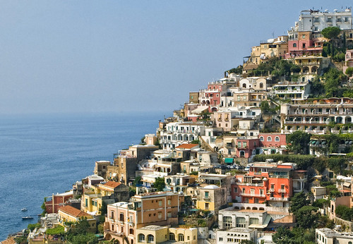 diagonal of Positano