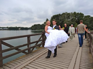 Bride in Trakai, Lithuania