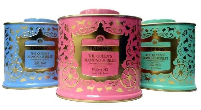 Twinings Diamond Jubilee Tea by Flickr user cricru