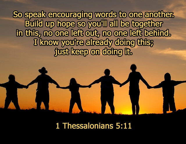 1 Thessalonians 5 11