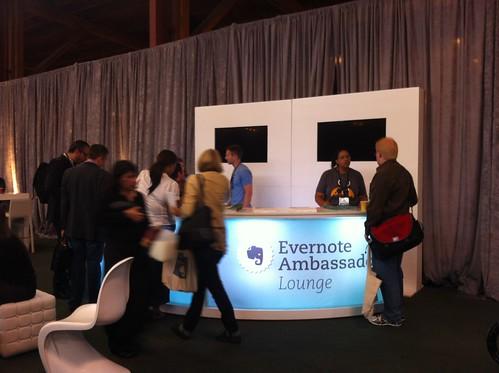 Evernote Ambassador Lounge
