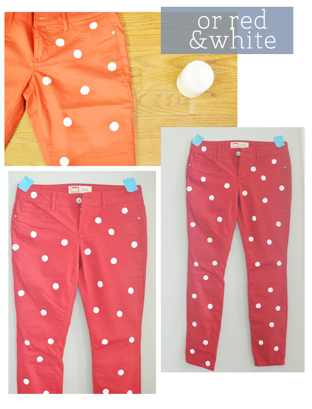 polka-dot-jeans-red