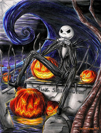 Jack Skellington (Nightmare before Christmas)