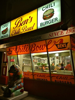 Outside Ben's Chili Bowl