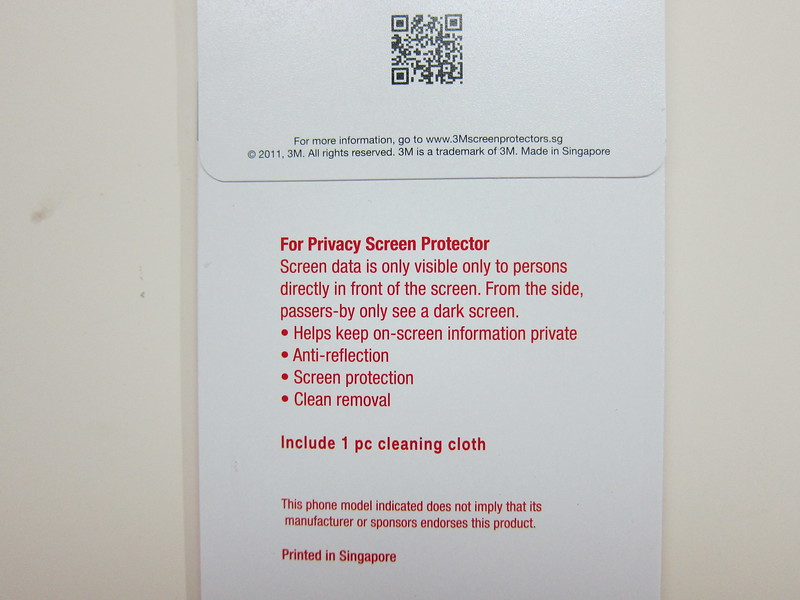 3M Screen Protector - Privacy