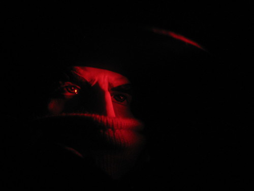 The Shadow Pulp Red Light Portrait 1649 by Brechtbug