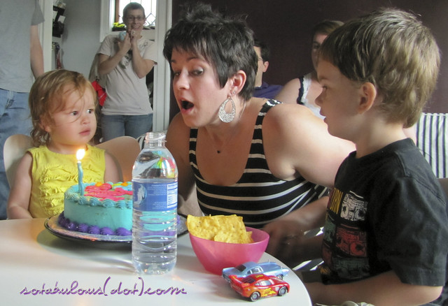 Tova's Second Birthday