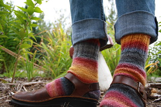 Big Bang Handspun Socks