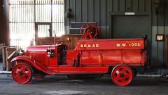 San Diego & Arizona Eastern M W 1003 1931 Ford Model AA Rail Fire Engine 01